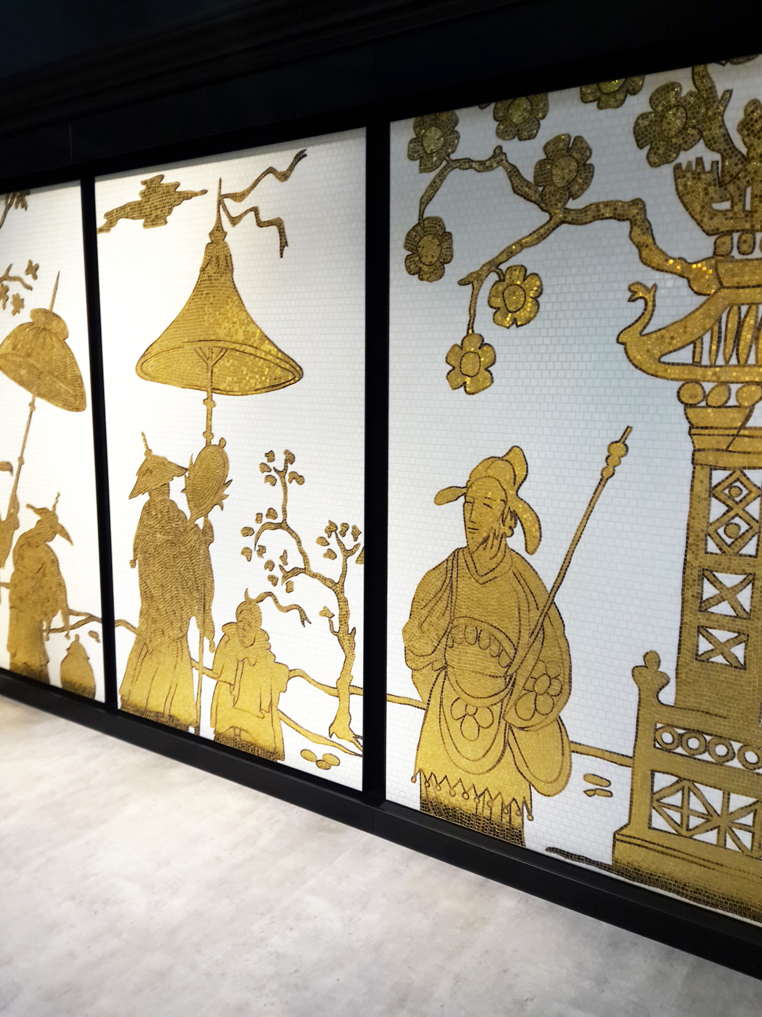 Mosaico: l\'arte incontra il rivestimento al Cersaie 2015 - Ideagroup ...