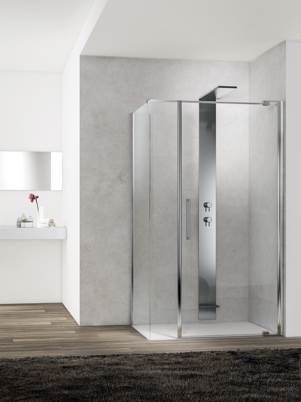 Come scegliere il box doccia ideale ideagroup blog - Vetri per doccia ...