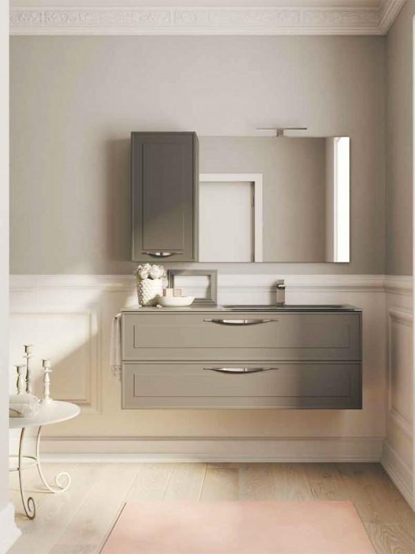 Idee per un bagno shabby chic ideagroup blog - Arredo bagno classico elegante prezzi ...