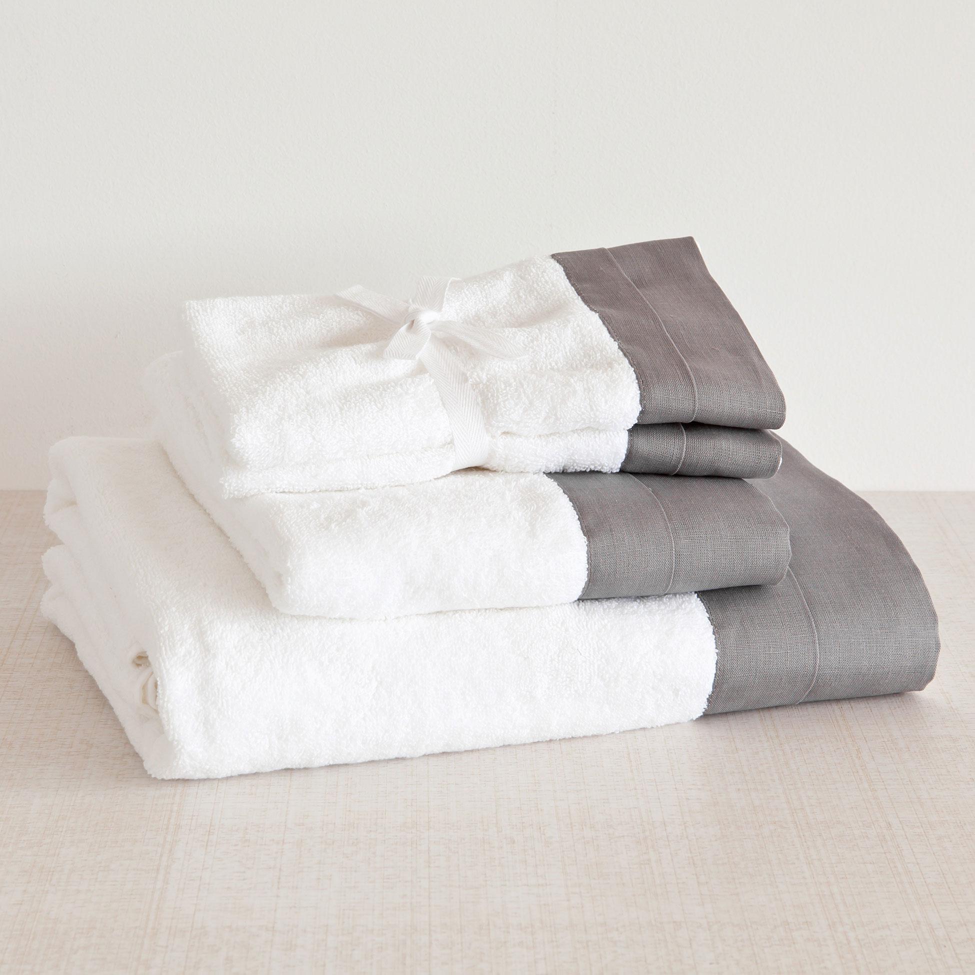Come preparare kit bagno ospiti zara home asciugamano - Zara home bagno ...