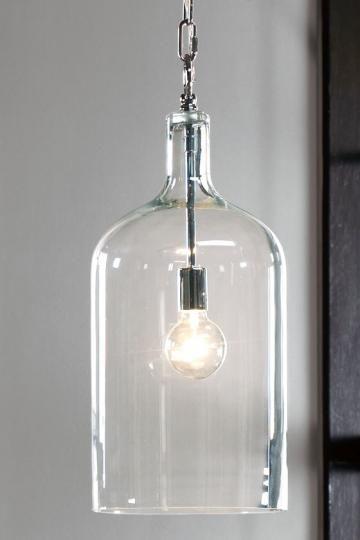 lampada vetro stile industrial chic arredo bagno - Ideagroup Blog