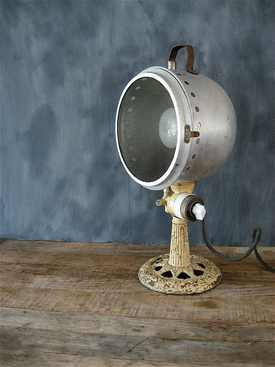 Lampada vintage ghisa stile industrial chic arredo bagno ...