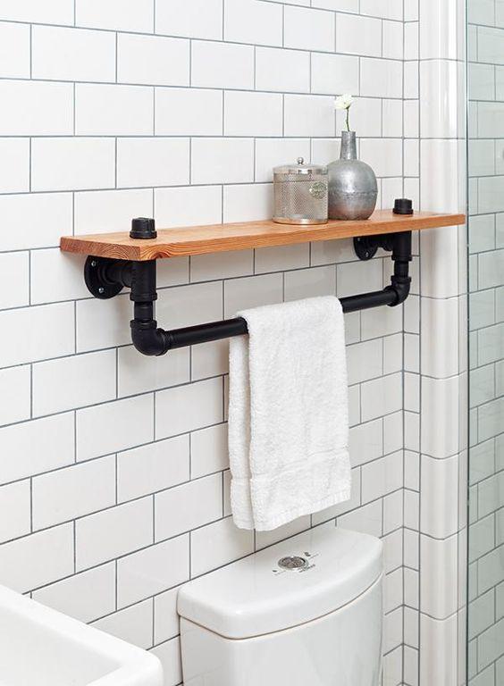 Preferenza piastrelle bianche stile industrial chic arredo bagno - Ideagroup Blog PD71