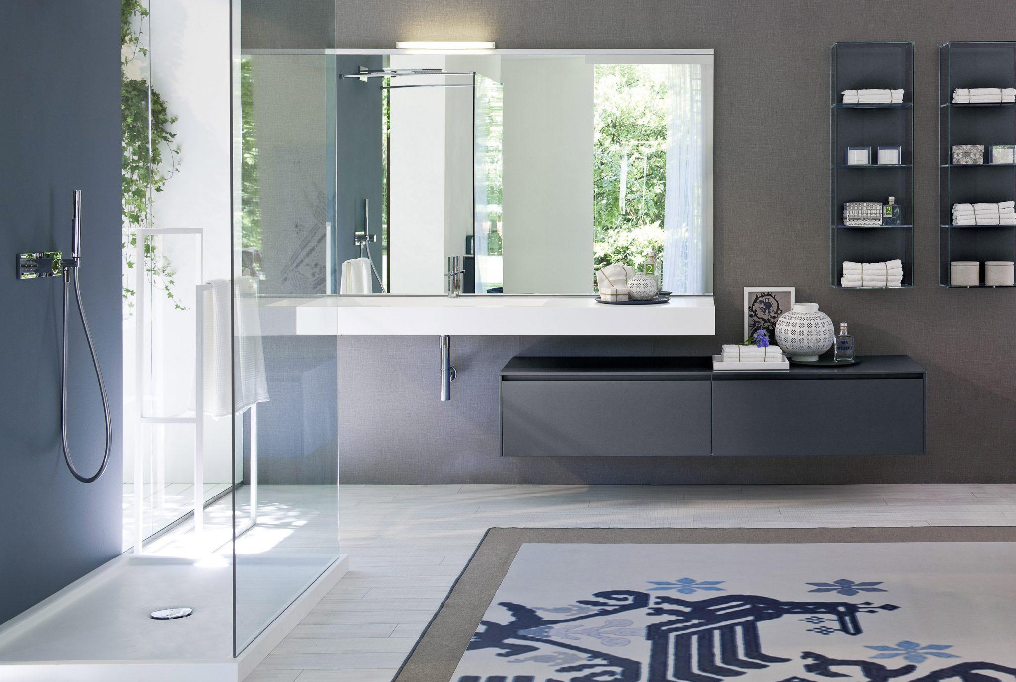 Come scegliere lo specchio per il bagno ideagroup