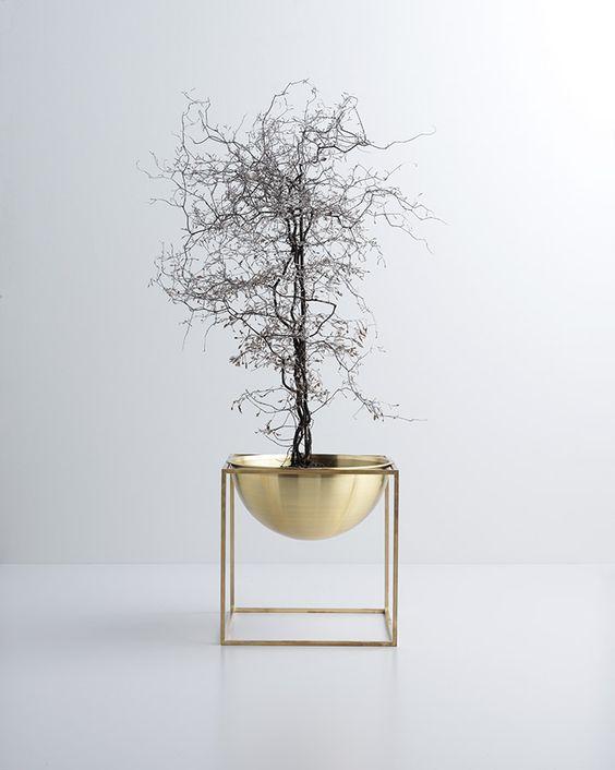 Vaso design ottone trend arredo bagno 2016 ideagroup blog for Design bagno 2016
