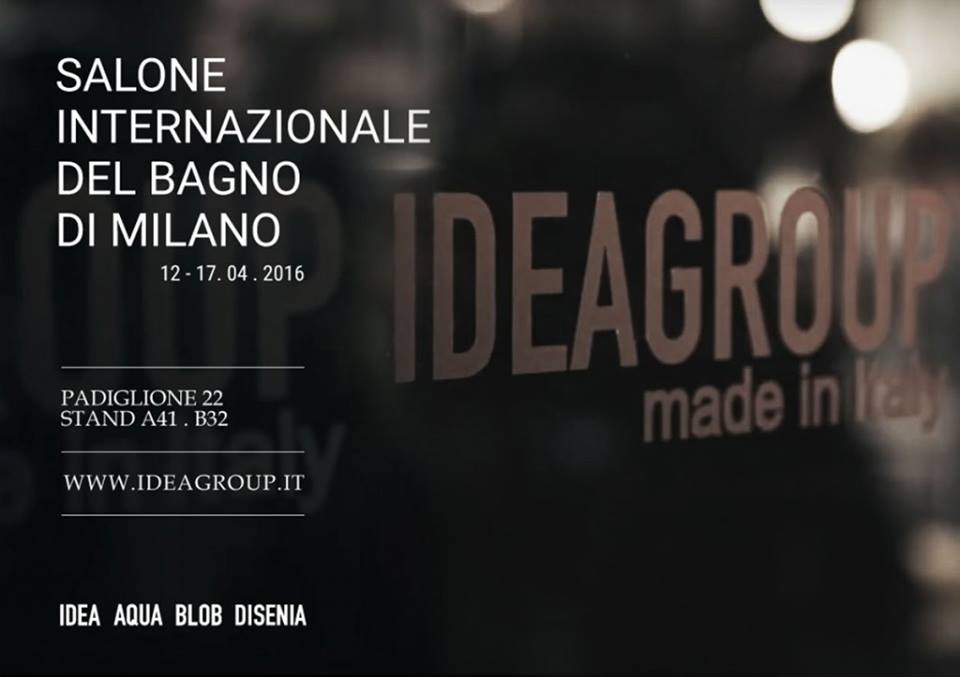 Ideagroup al salone del mobile 2016 un 39 anticipazione for Salone del mobile 2016 novita