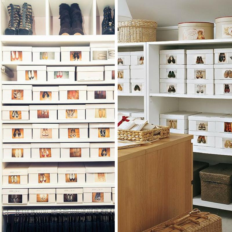Organizzare una cabina armadio cabina armadio idee fai da - Scatole scarpe ikea ...