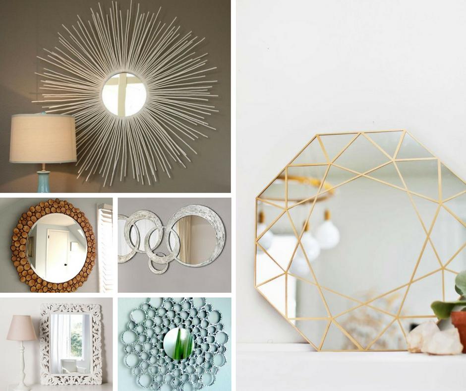 Come decorare e personalizzare uno specchio ideagroup blog for Decorare muro stanza