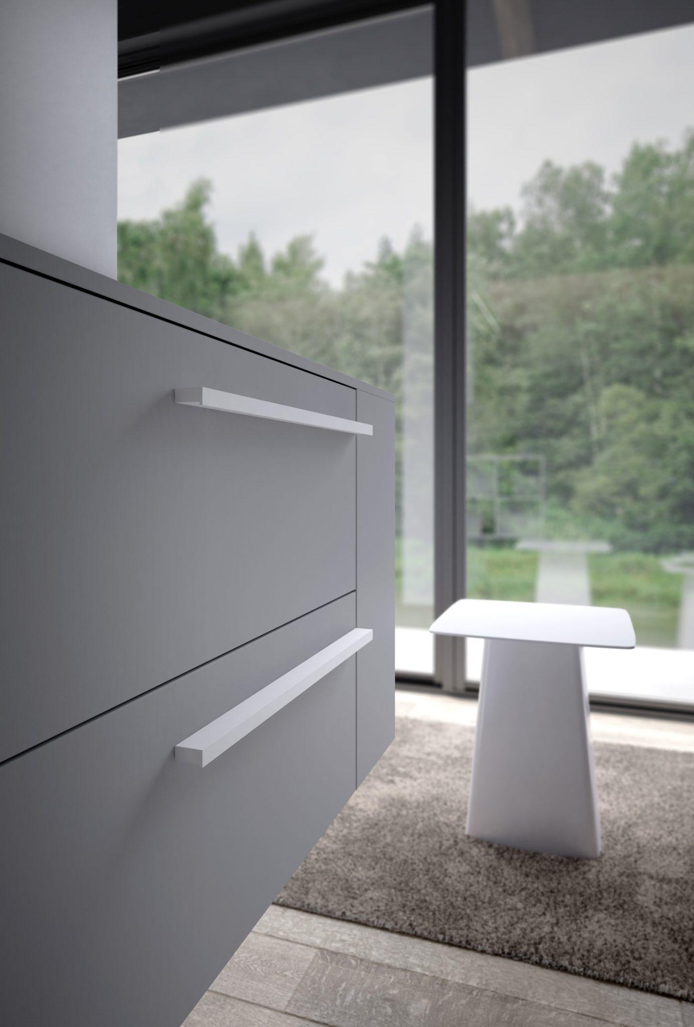 Sense ideagroup arredo bagno moderno grigio dettaglio - Bagno moderno grigio ...
