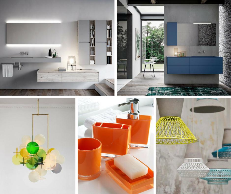 Come abbinare i colori per l 39 arredamento del bagno - Arredo bagno semplice ...