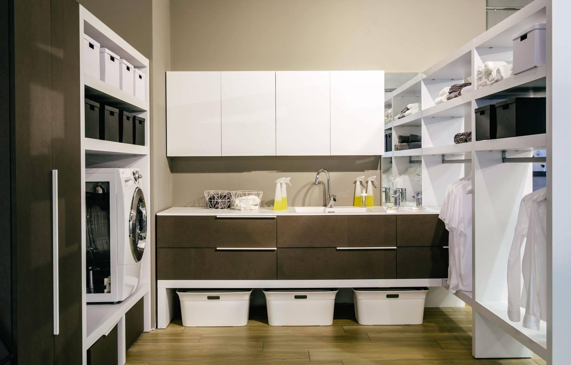 Fare il bucato - Come organizzare l'arredo della stanza