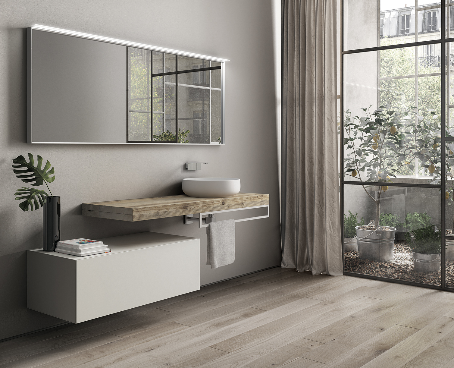 Top in legno l 39 arredo bagno di tendenza ideagroup blog for Top arredo