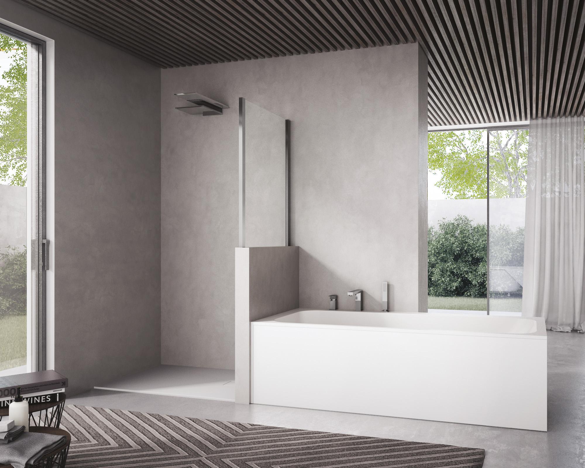 Come scegliere tra vasca da bagno e box doccia ideagroup blog - Vasca bagno con doccia ...