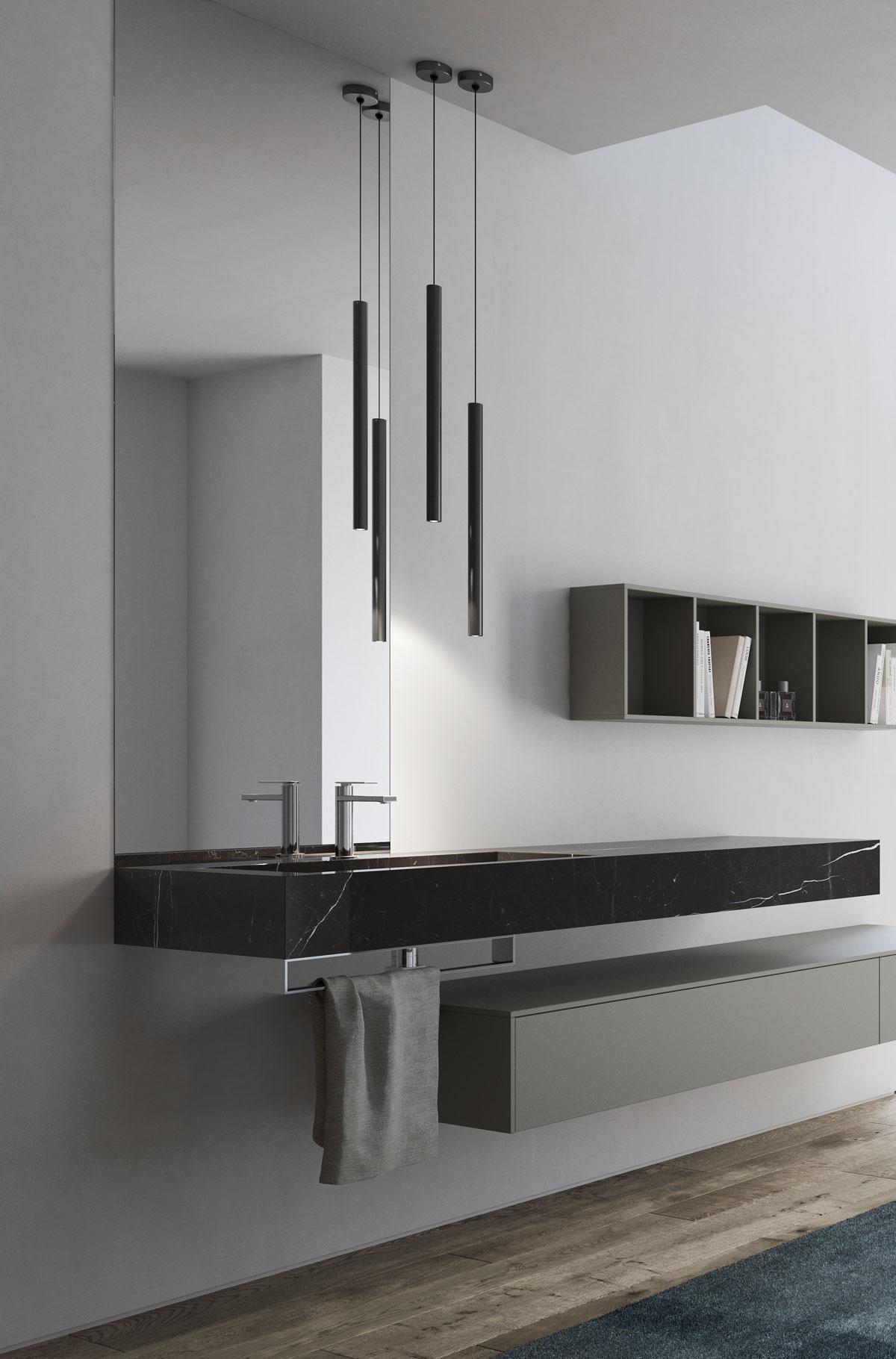 Lampadario per il bagno alcune ispirazioni di design ideagroup blog - Lampadario bagno moderno ...