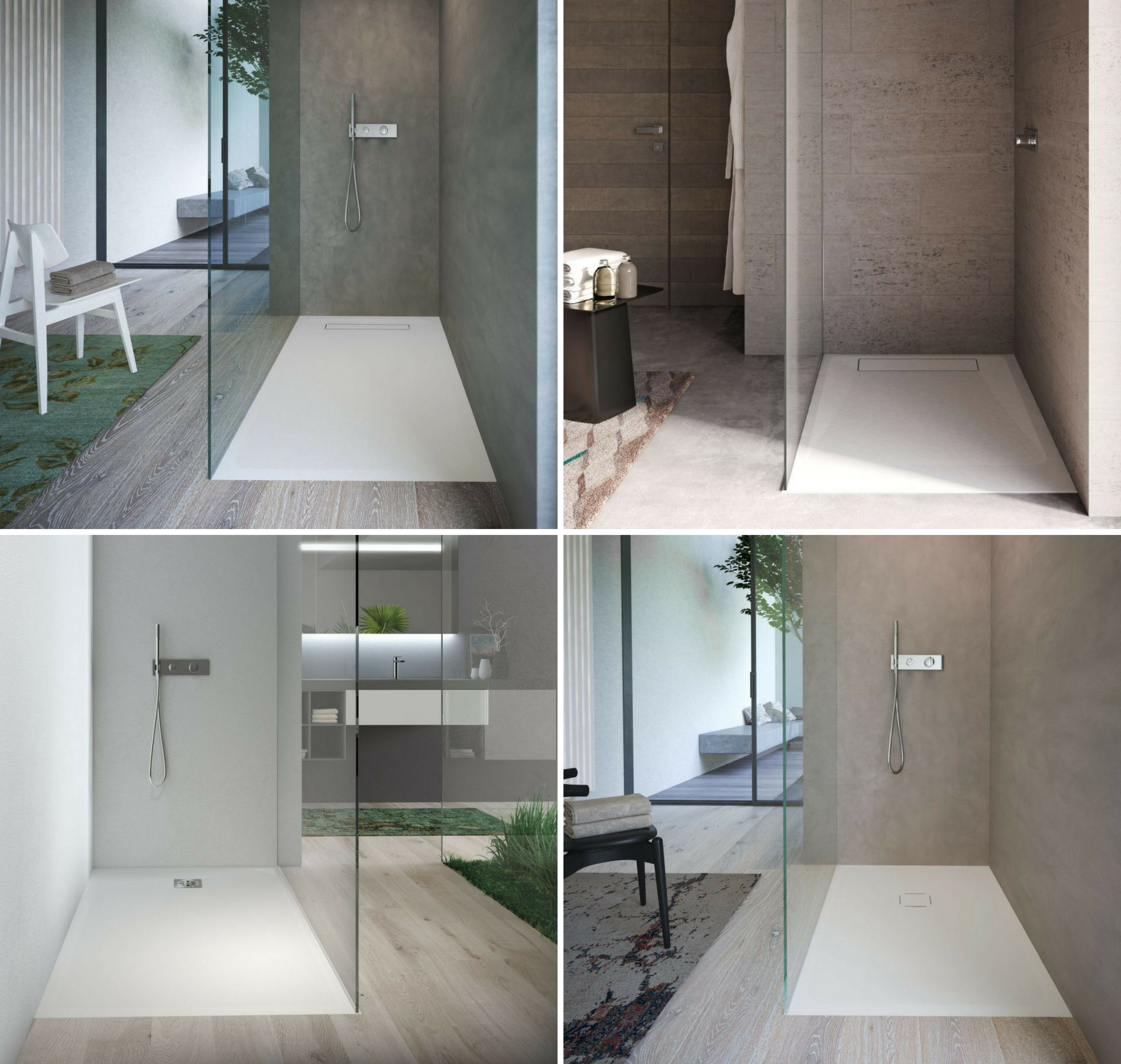 Piatti doccia e vasche da bagno le novit 2018 disenia ideagroup blog - Come lucidare una vasca da bagno opaca ...