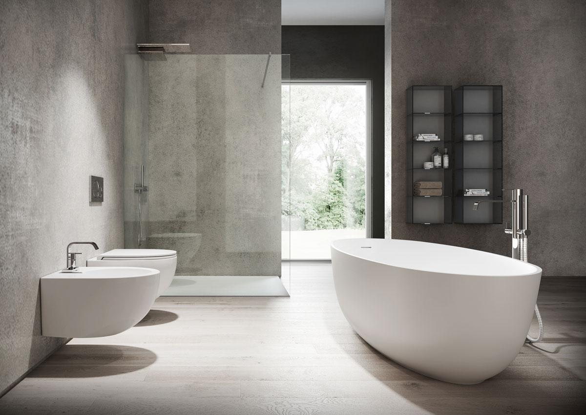 Vasca Da Bagno Filo Piano : Piatti doccia e vasche da bagno: le novità 2018 disenia ideagroup blog
