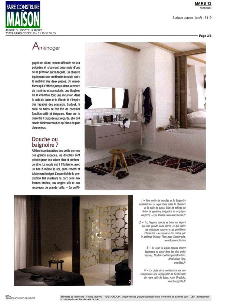 faire construire maison march 2013. Black Bedroom Furniture Sets. Home Design Ideas