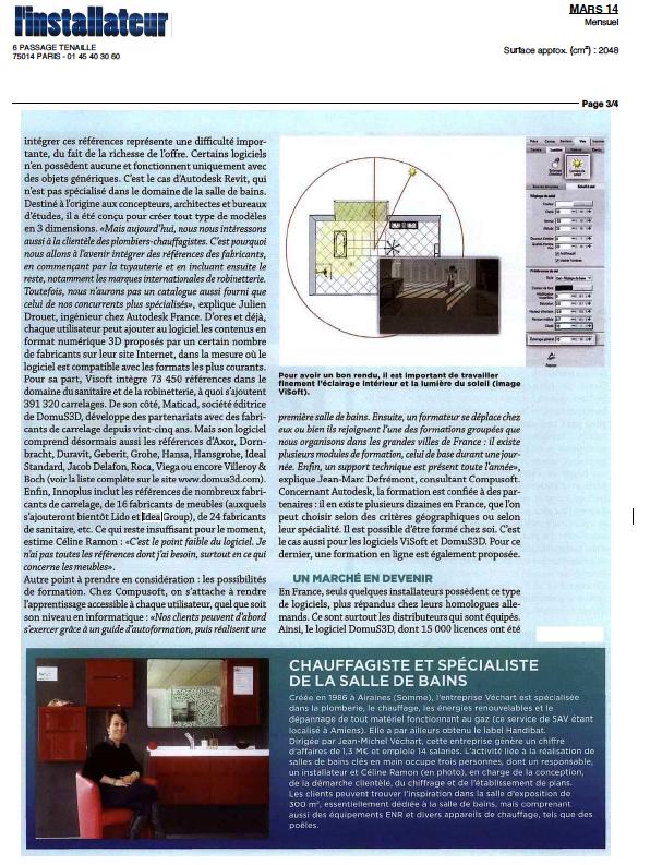 L 39 installateur pr sente logiciel 3d d di la salle de bains - Logiciel 3d pour salle de bain ...
