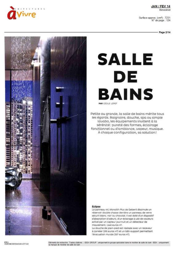 Architectures vivre for Architecture a vivre magazine