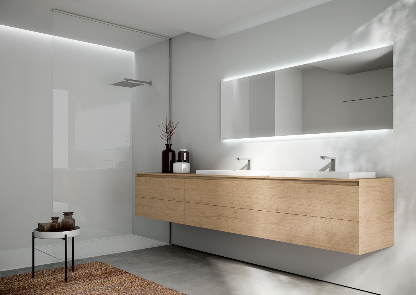 Mobile bagno sospeso Cubik - IDEAGROUP