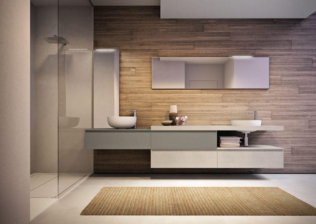 Mobile bagno sospeso cubik ideagroup for Design di mobili cool