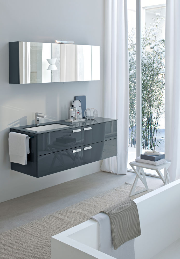 Arredo bagno moderno my fly evo ideagroup - Mobile bagno fly ...