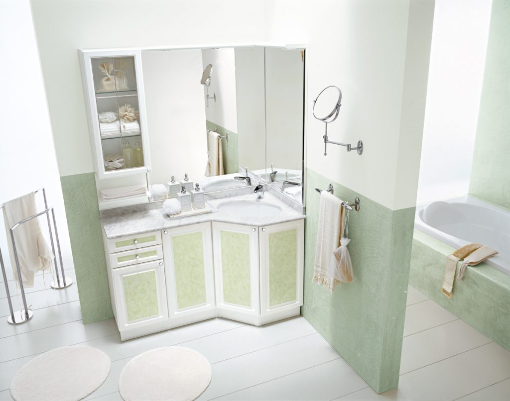 Bagni eleganti rond ideagroup - Mobili da bagno eleganti ...