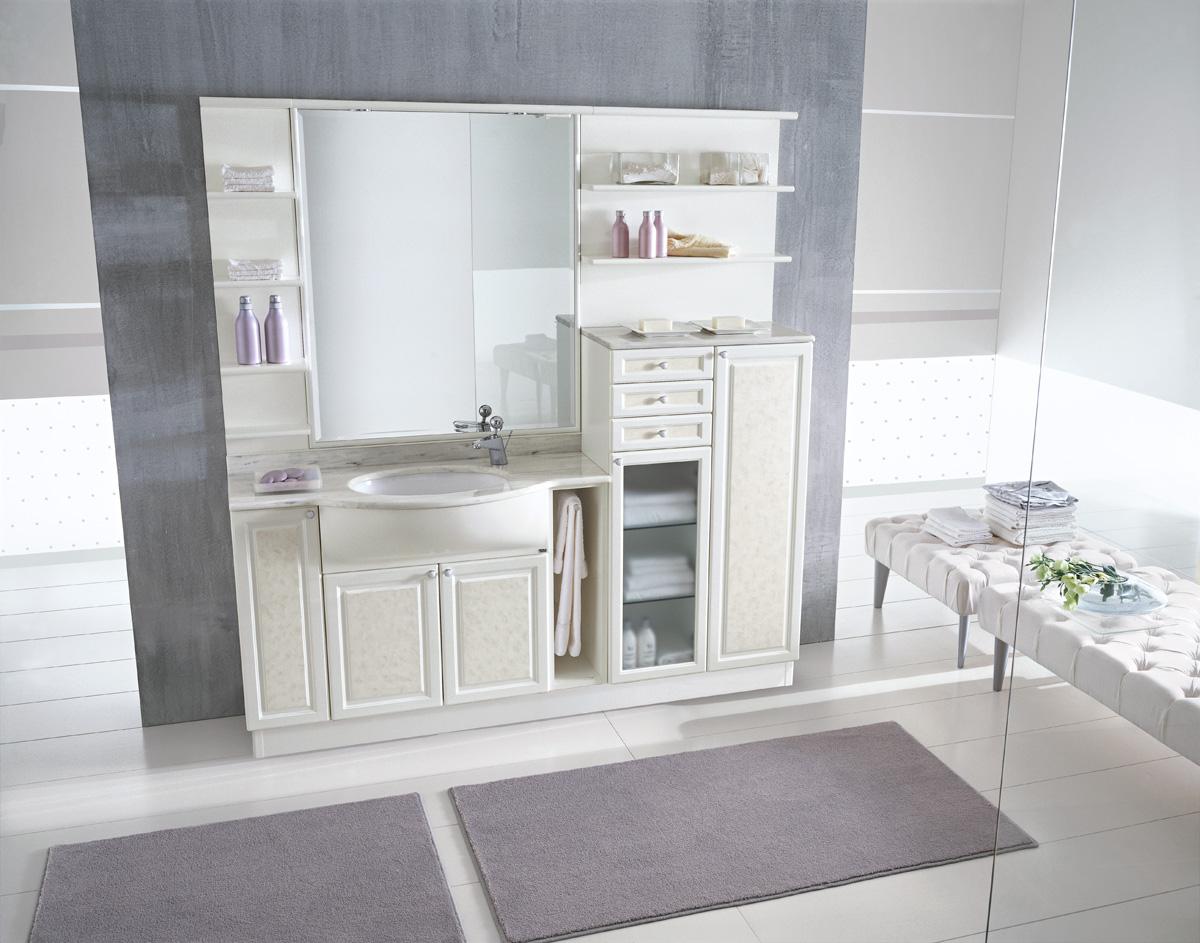 Bagni eleganti rond ideagroup for Modelli bagno moderno