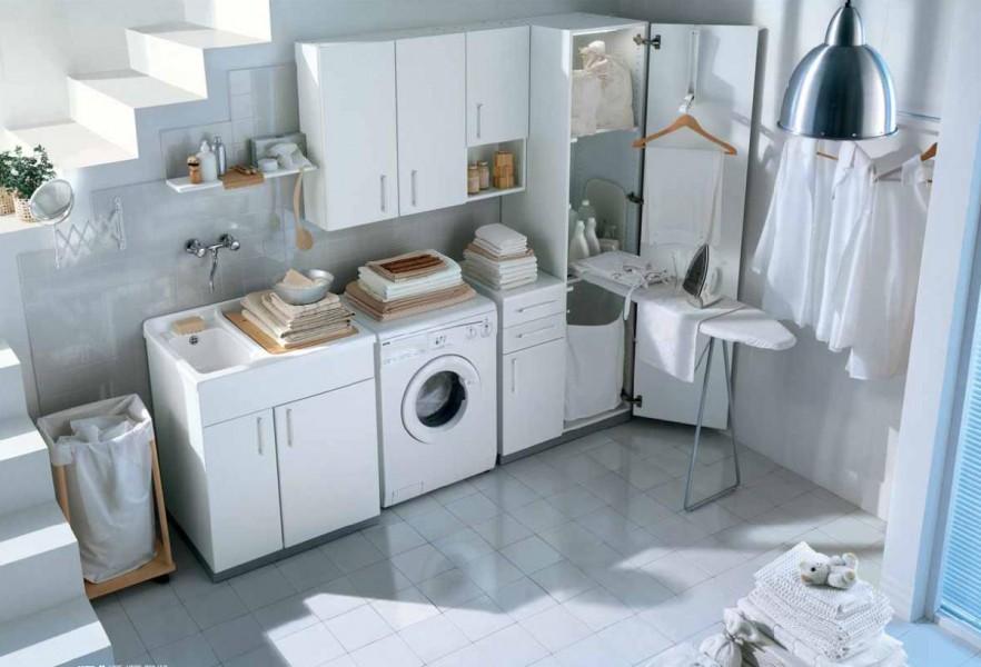 Mobile lavanderia spazio ideagroup - Mobili per lavanderia di casa ...