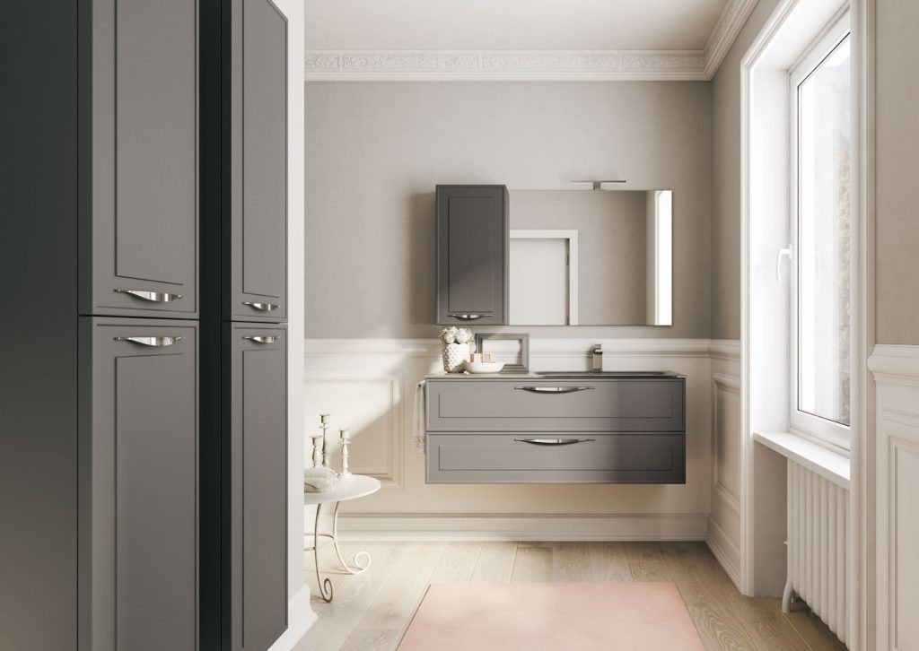 Cabine Bagno Complete : Dressy bathroom furniture ideagroup