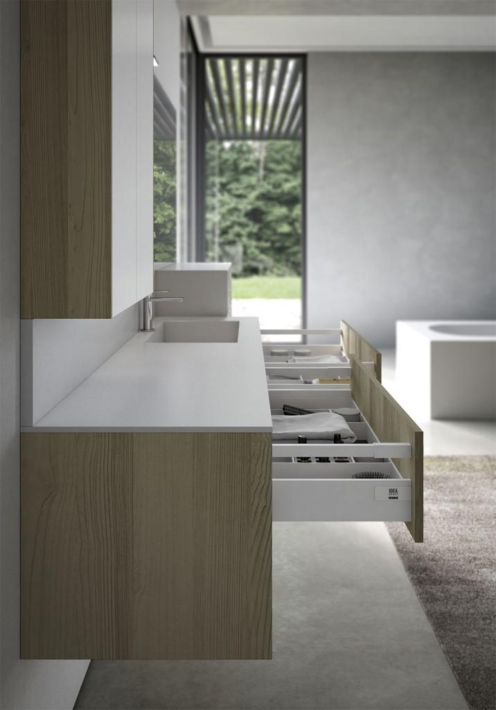 Mobili bagno sense arredo bagno di design ideagroup - Design badezimmerschrank ...