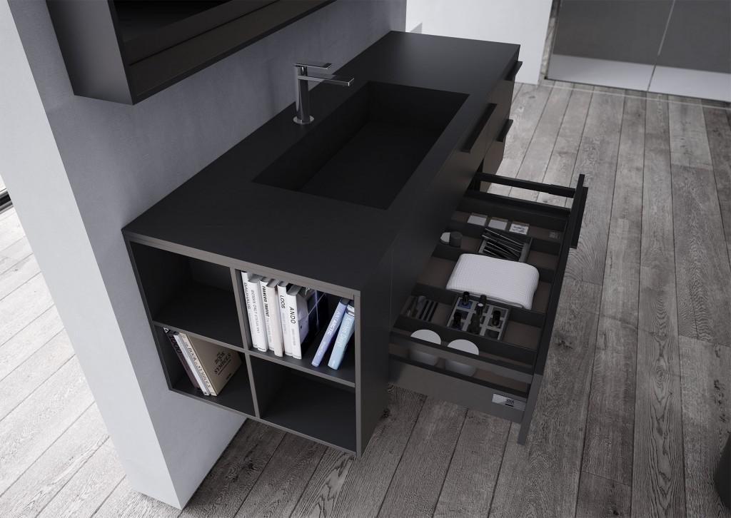 Accessori Bagno Design Minimale : Mobili bagno sense arredo di design ideagroup