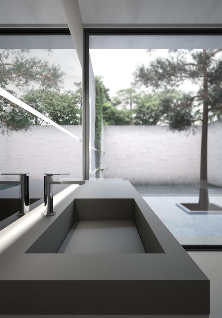 Mobili bagno sense arredo bagno di design ideagroup for Mobili bagno 2016