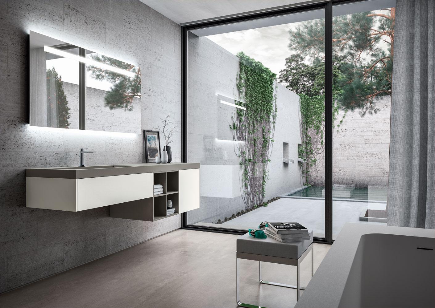 Mobili bagno sense arredo bagno di design ideagroup - Idea arredo bagno ...