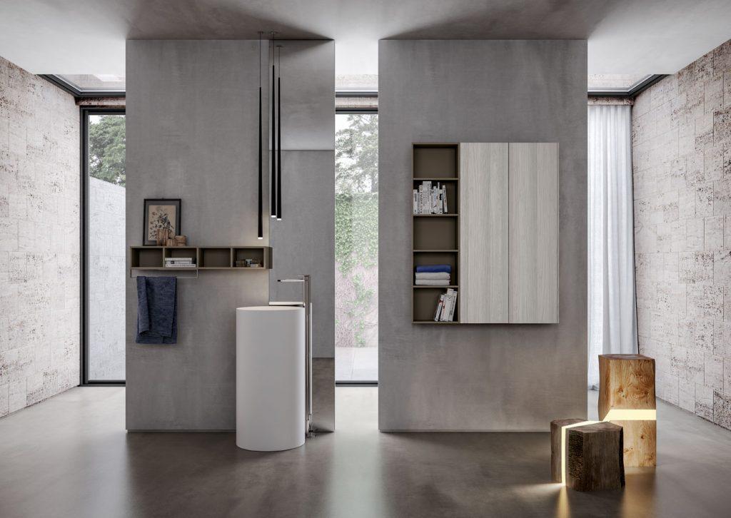 Mobili bagno sense arredo bagno di design ideagroup for Lavabi arredo bagno