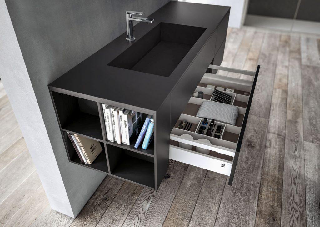 Mobili bagno sense arredo bagno di design ideagroup for Mobili x il bagno
