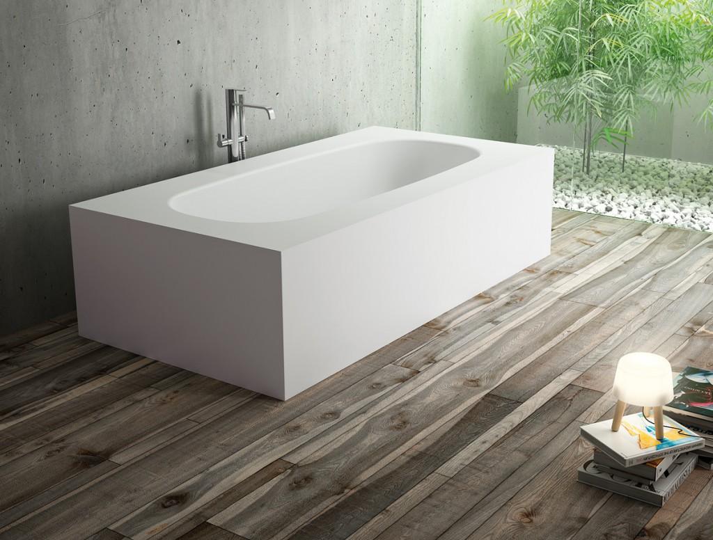 Vasche da bagno oval ideagroup - Vasche da bagno con piedini prezzi ...