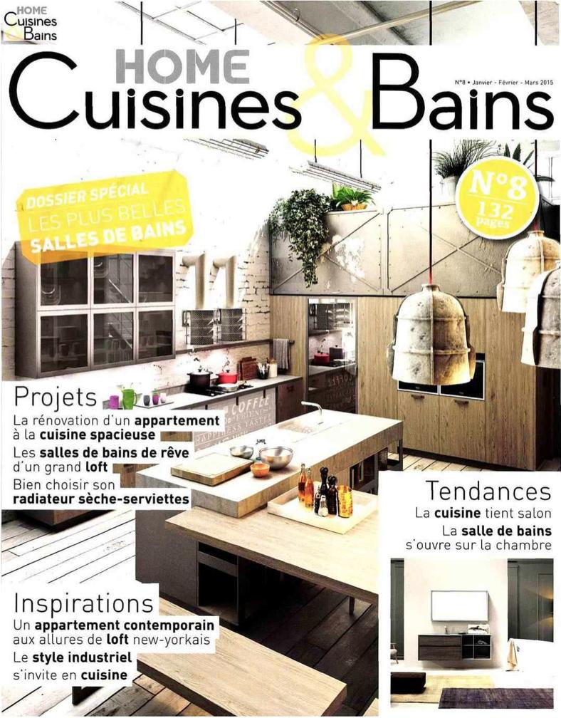 my seventy plus in der zeitschrift home cuisines bains ideagroup. Black Bedroom Furniture Sets. Home Design Ideas