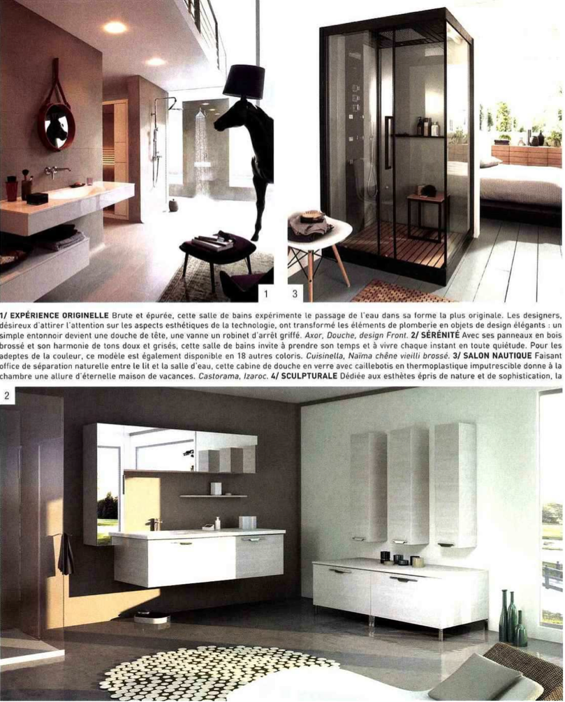 die nat rliche sthetik von cubik in der zeitschrift home cuisines bains ideagroup. Black Bedroom Furniture Sets. Home Design Ideas