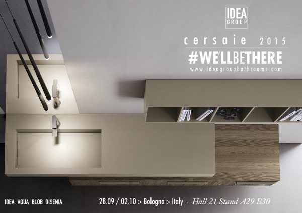 Ideagroup bathroom furniture at Cersaie 2015