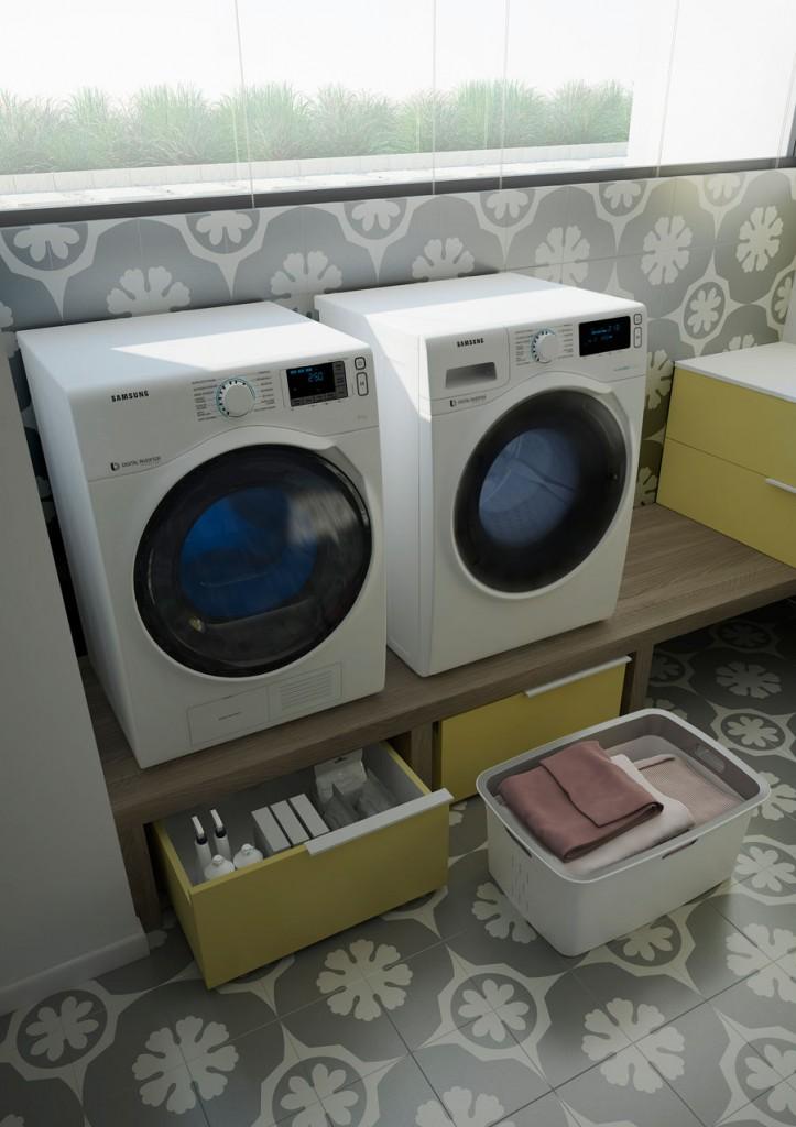 spazio time l 39 l gance dans la buanderie. Black Bedroom Furniture Sets. Home Design Ideas