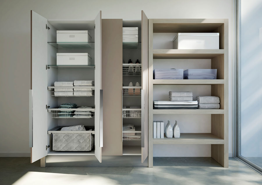 Schrank Waschküche furniture collection for laundry room spazio