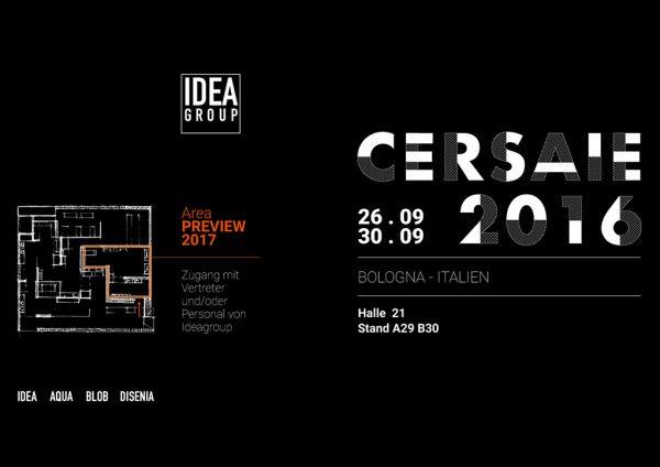 Ideagroup an der Cersaie 2016
