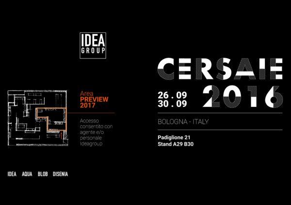 Ideagroup al Cersaie 2016