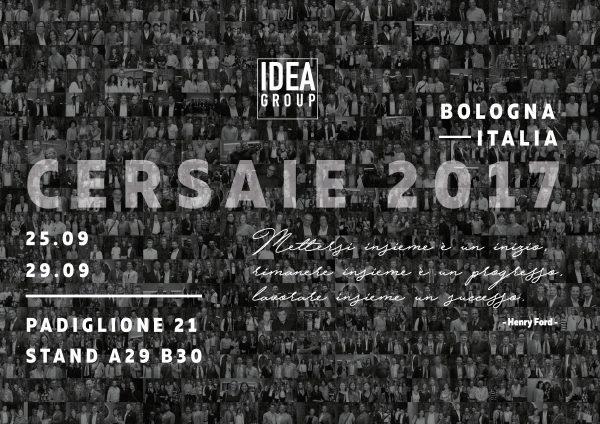 Ideagroup a Cersaie 2017