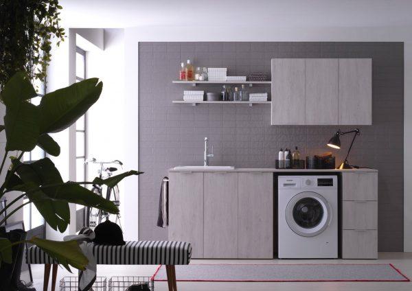 Soluzioni per bagni piccoli e mobili lavanderia - IDEAGROUP
