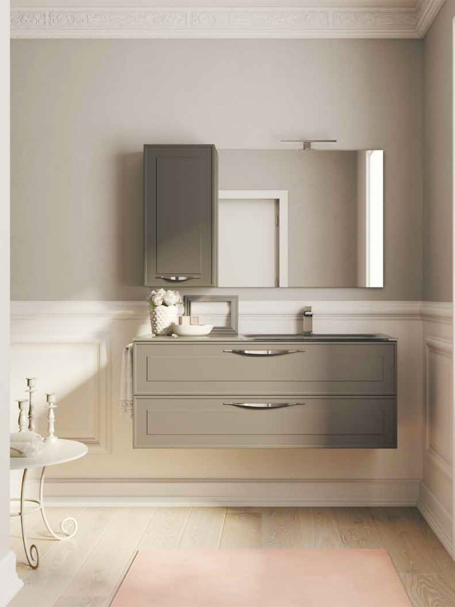 Idee per un bagno shabby chic ideagroup blog for Idee per arredare casa stile country
