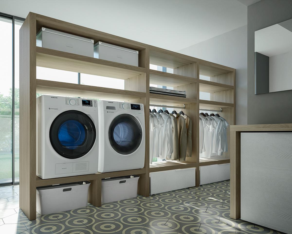 Come arredare e organizzare la lavanderia ideagroup blog for Mobili per arredare casa