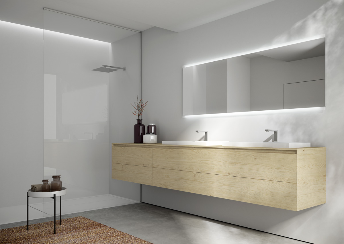 Arredo bagno cubik ideagroup salone del mobile 2016 - Salone del bagno ...