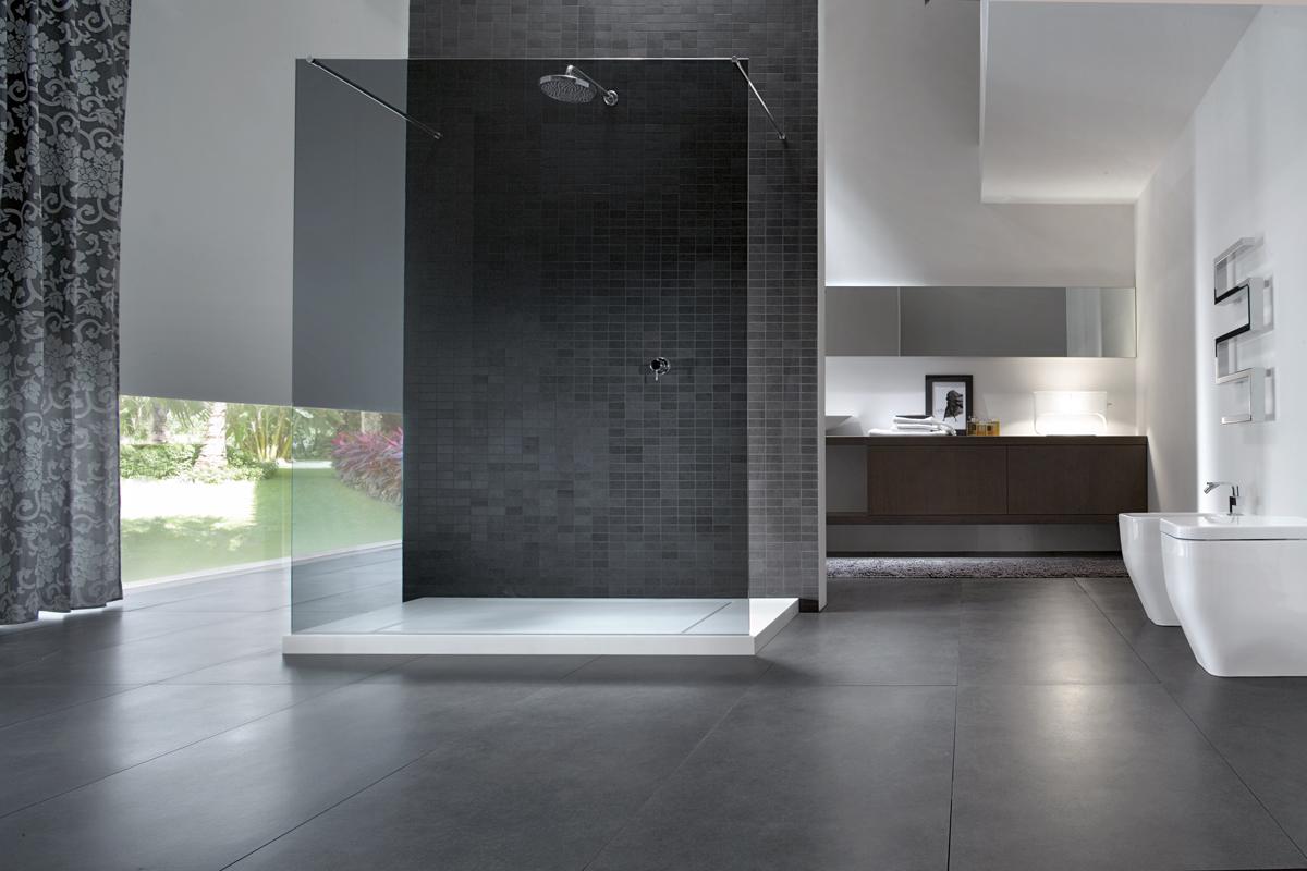 Come arredare il bagno con il nero - Ideagroup Blog